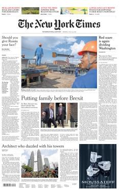 The New York Times International Edition |
