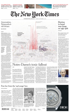 The New York Times International Edition