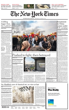 Jaquette The New York Times International Edition