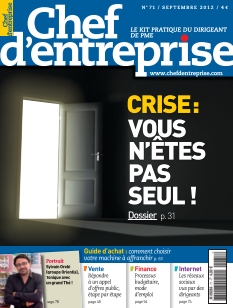 Chef d&#39;Entreprise Magazine 