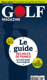 Golf magazine (Guide des Golfs 2014)