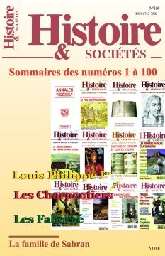 Histoire & Sociétés |