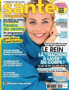 Jaquette Santé magazine