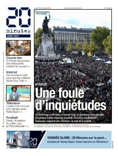 20 Minutes Grand Paris |