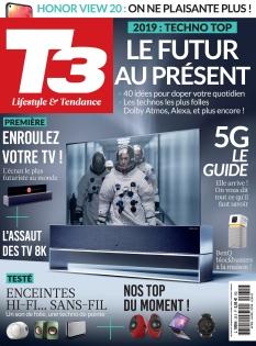 Jaquette T3 Gadget Magazine