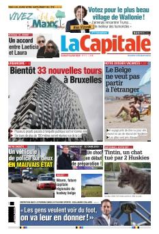 La Capitale édition Bruxelles |