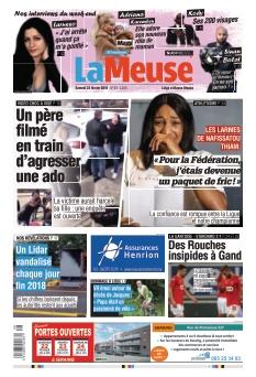 Jaquette La Meuse