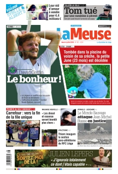 La Meuse édition Liège