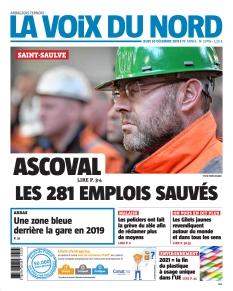 Jaquette La Voix du Nord Arras