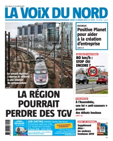 Jaquette La Voix du Nord Roubaix