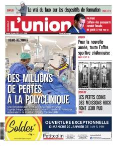 Jaquette L'Union Châlons en Champagne