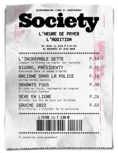 Couverture de Society