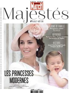 Paris Match Hors Série Majestés  |