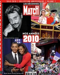 Jaquette Paris Match Hors Série Les Décennies