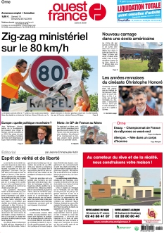 Ouest France Orne |