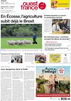 Ouest France Angers Segré
