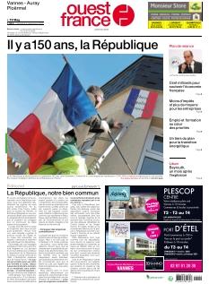 Ouest France Auray