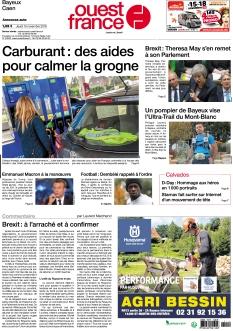 Ouest France Bayeux Caen