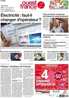 Ouest France Cholet