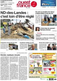 Ouest France Fontenay-le-Comte - Luçon