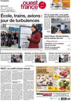 Ouest France Guingamp |