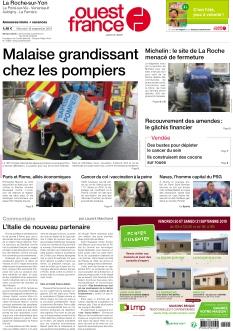 Ouest France La Roche-sur-Yon |