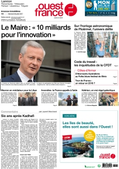Ouest France Lannion |