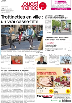 Ouest France Lorient |