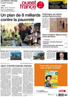 Ouest France Les Herbiers - Montaigu
