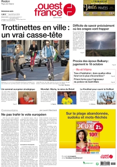 Ouest France Redon |