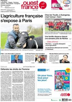 Ouest France Paimpol |