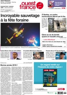 Ouest France St Nazaire La Baule