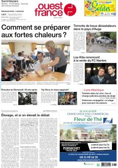 Jaquette Ouest France St Nazaire La Baule