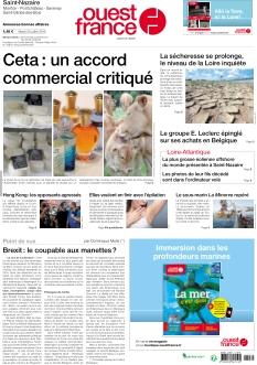 Ouest France St Nazaire La Baule |