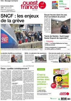 Ouest France Vire Falaise