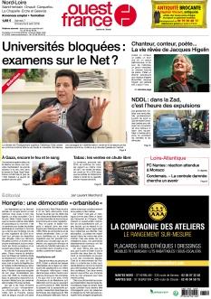 Ouest France Nantes Nord-Loire
