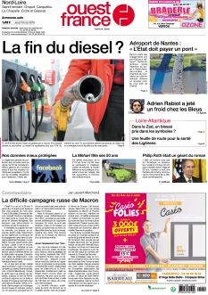 Ouest France Nantes Nord-Loire |