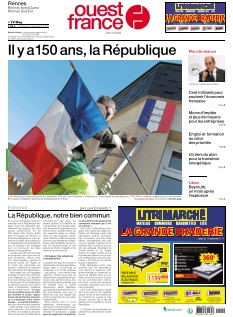 Couverture de Ouest France Rennes Sud