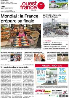Jaquette Ouest France Quimperlé