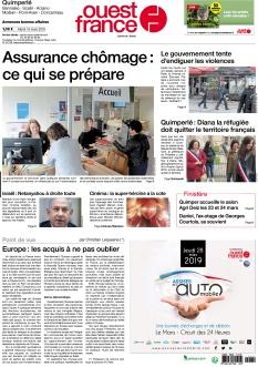 Ouest France Quimperlé |