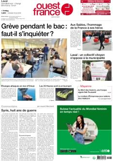Jaquette Ouest France Laval