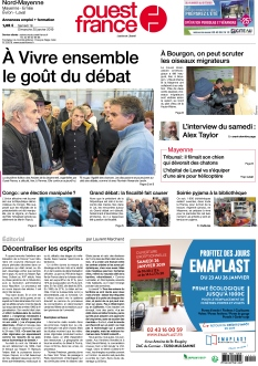 Ouest France Nord-Mayenne |