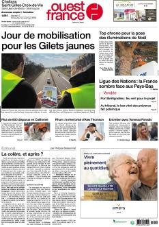 Ouest France Challans - Saint-Gilles-Croix-de-Vie |