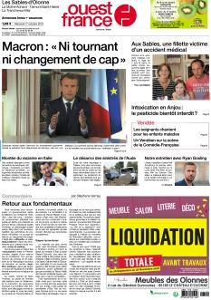 Ouest France Les Sables d'Olonne |