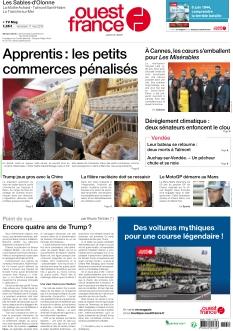 Ouest France Les Sables d'Olonne