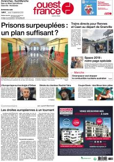 Jaquette Ouest France Avranches
