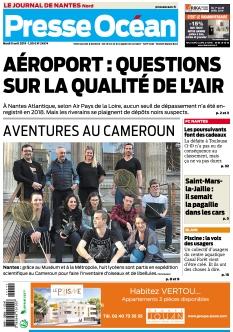 Jaquette Presse Océan Nantes Nord