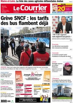 Jaquette Le Courrier de l'Ouest Cholet