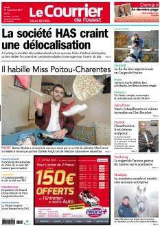 Le Courrier de l'Ouest Deux-Sèvres |