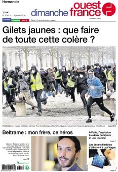 Jaquette Dimanche Ouest France Calvados Manche Orne